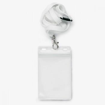 7011NK - Transparante badges / formaat  125 x 76 mm